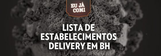lista delivery bh